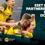 ESET se stal partnerem fotbalového klubu Borussia Dortmund
