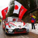 Evans na Toyotě Yaris WRC ovládl Švédskou rallye, tři Toyoty na prvních čtyřech pozicích